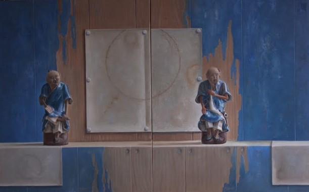 blauwe ouwe mannen