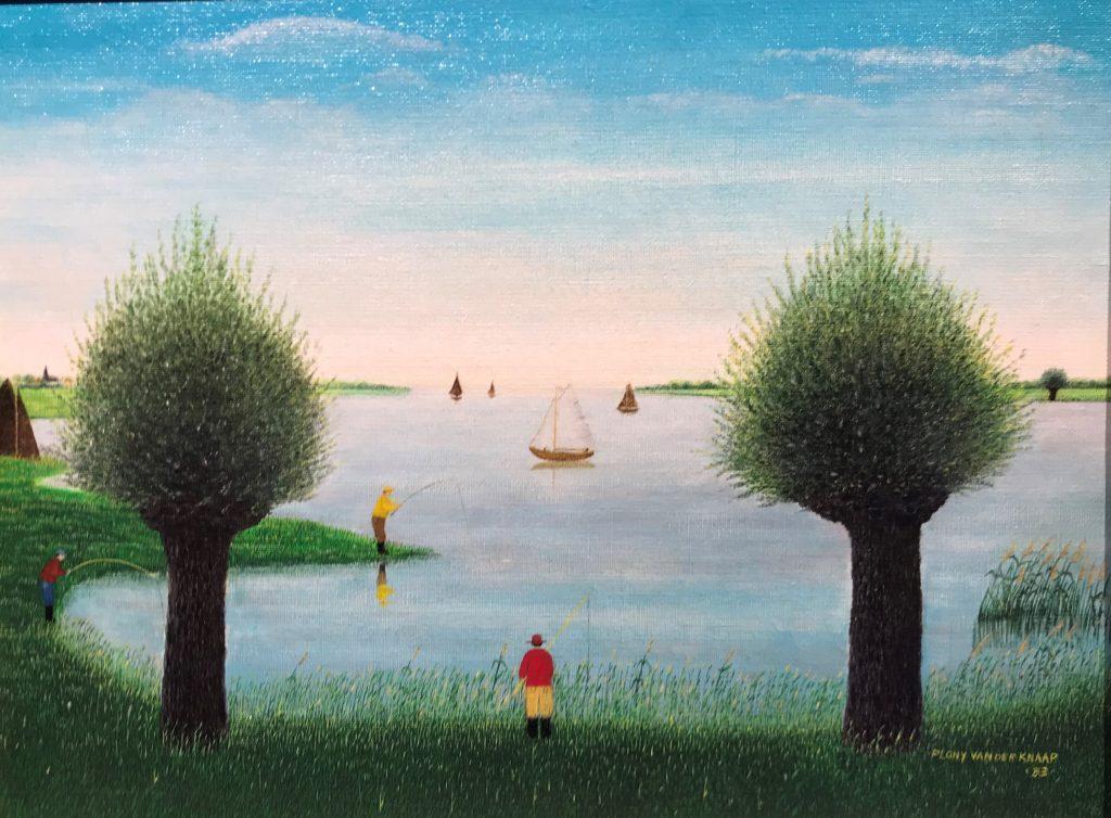 Plony van der Knaap Drie vissers